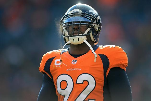 New Orleans Saints Not Chasing Former Broncos LB Elvis Dumervil, Source Says