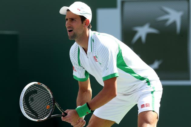 Djokovic Rocks Tsonga 6-3 6-1 in Quarterfinal Clash
