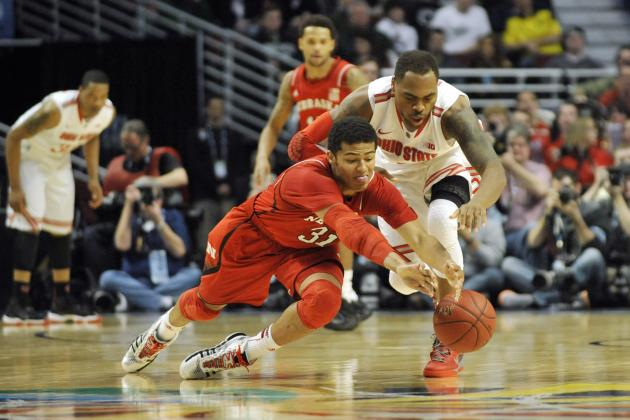 Ohio State Men's Basketball Drops Nebraska to Open Big Ten Tournament