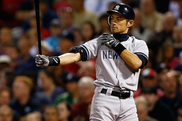 New York Yankees 2013: 197 Hits  X 2 Seasons = 3,000 Hits for Ichiro Suzuki