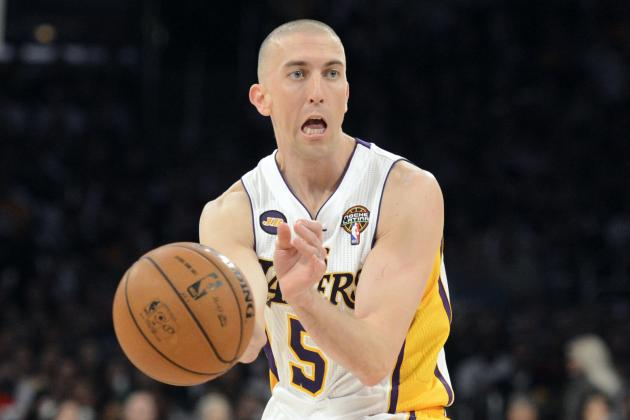Steve Blake, Lakers Win Big Game over Pacers in Indiana
