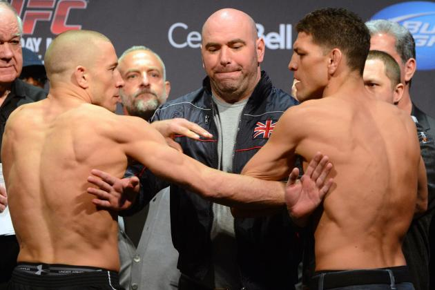 UFC 158: What's at Stake for the Top Welterweights on Saturday?