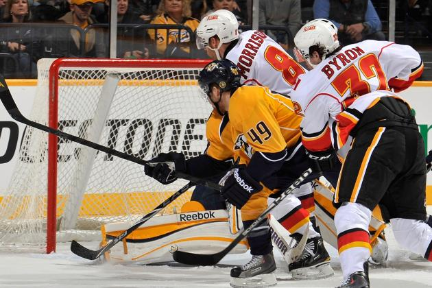 Nashville Predators vs. Calgary Flames - Boxscore - March 15, 2013 - ESPN