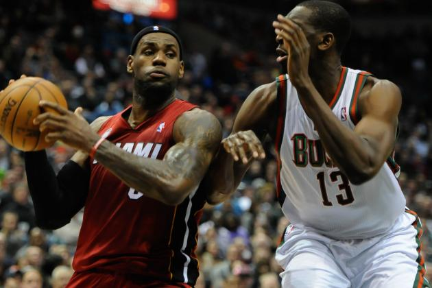 LeBron, Bosh Score 28 Each as Heat Improve Streak to 21 Straight