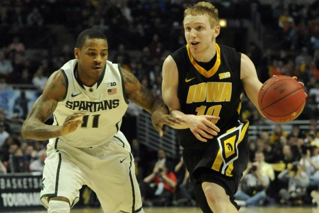 Iowa Collapses in B1G Quarterfinal
