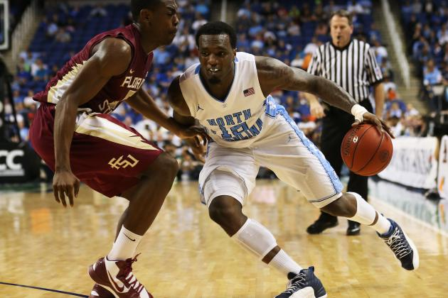 UNC Rolls on FSU in ACC Quarterfinals