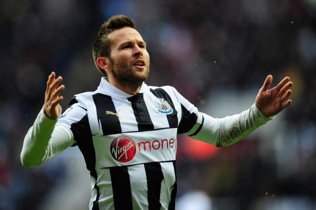 Newcastle's Yohan Cabaye Has Cooled Fears over the Severity of His Groin Injury