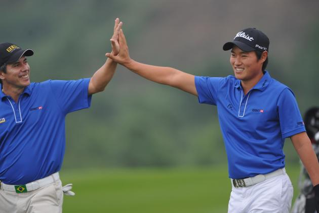 Wood's Thailand Open Defense on Track as Lee Leads by One