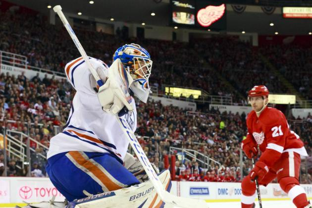 Red Wings Rally to Edge Edmonton Oilers in Overtime