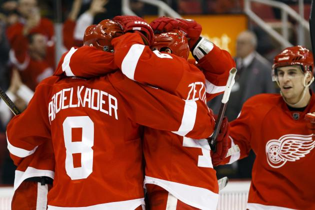 Red Wings Show Resilience to Pull out Overtime Victory