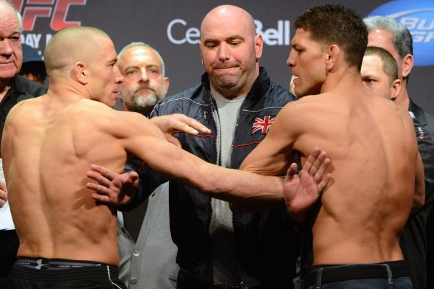 UFC 158 Live Streaming: Watch Georges St-Pierre vs. Nick Diaz Online