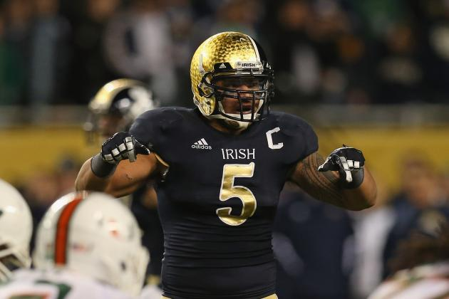 Breaking Down Notre Dame ILB Manti Te'o's On-Field Flaws