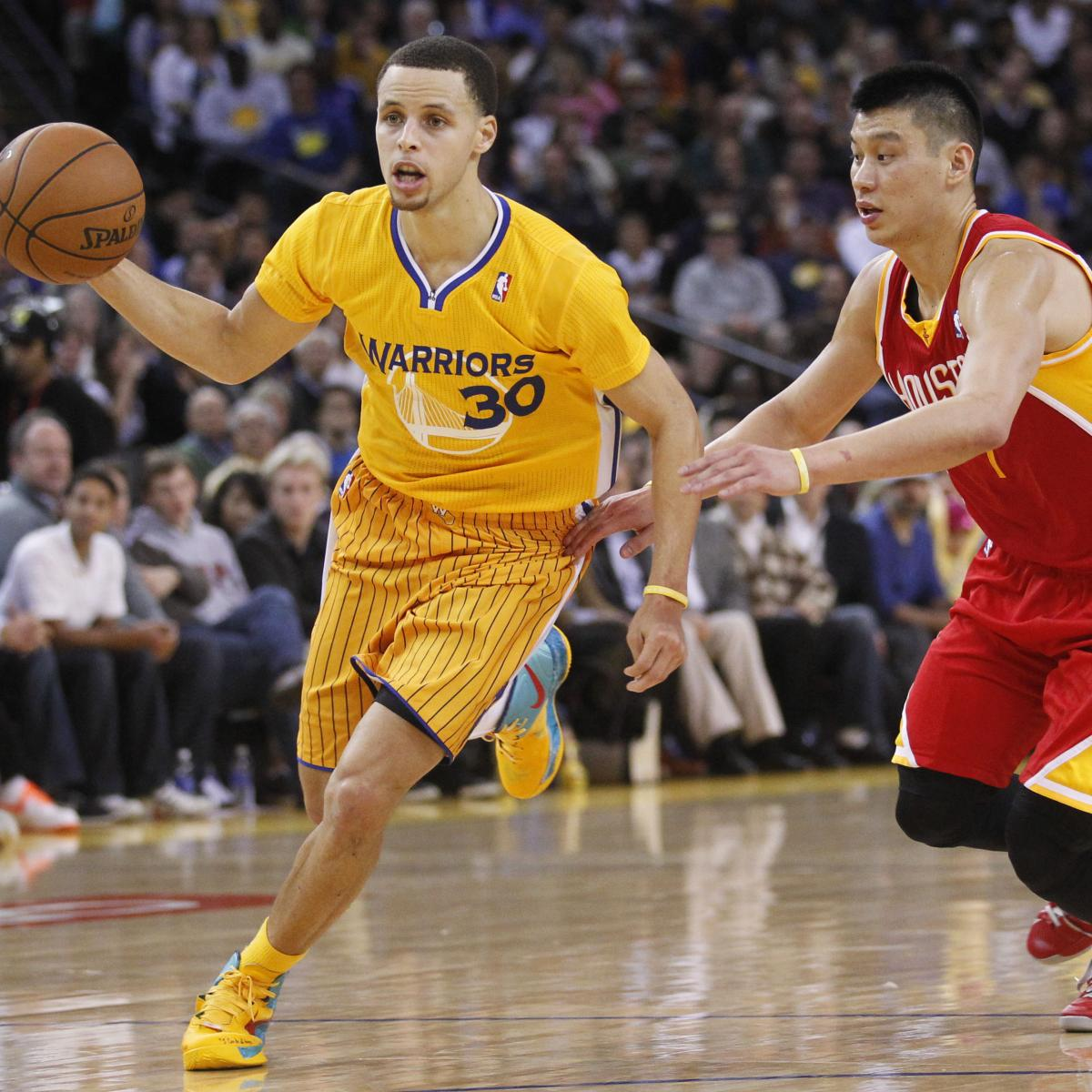 Golden State Warriors Vs. Houston Rockets: Preview