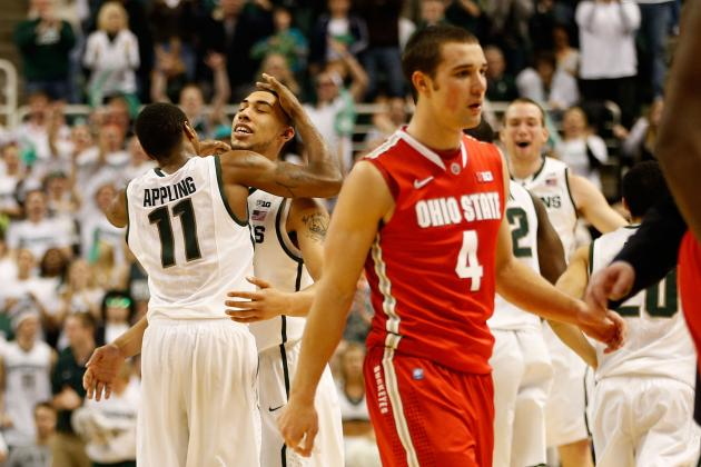 Are Ohio State and Michigan State Playing for a 2 Seed?