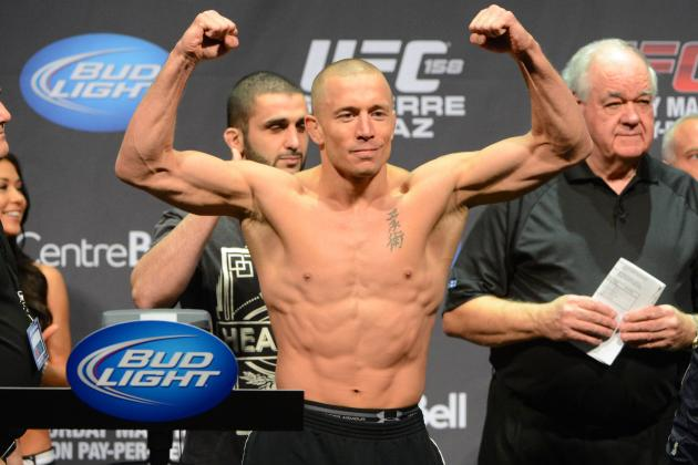 GSP vs. Diaz Fight Card: Who's Under the Most Pressure at UFC 158?