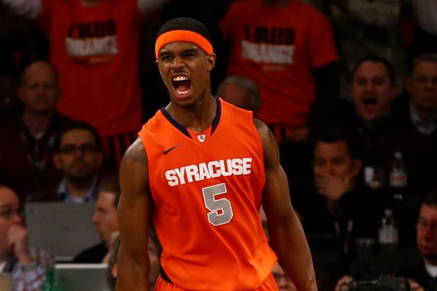 C.J. Fair Dunks on Otto Porter in Syracuse's Win over Georgetown (VIDEO)