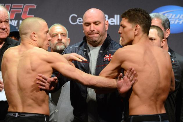 UFC 158 Live Streaming: How to Watch GSP vs. Diaz on Your Computer or Xbox