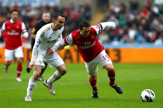 Arsenal: Why Santi Cazorla Was the Gunners' Star Player Against Swansea