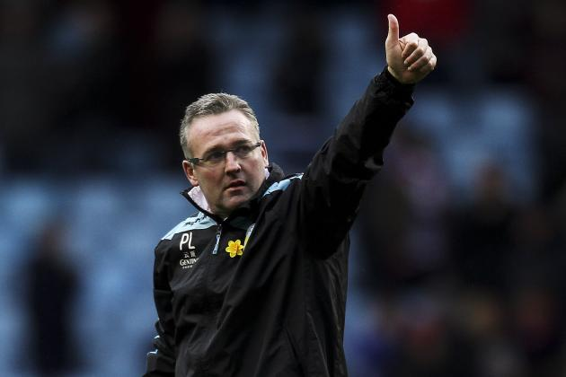 Aston Villa Boss Paul Lambert Praised Sides Spirit in Win over QPR