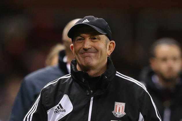 Tony Pulis Says Survival Would Be Great for Stoke After West Brom Draw