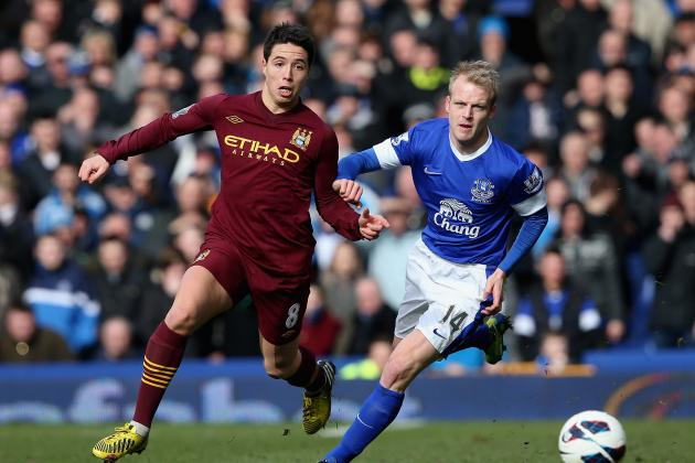 Everton vs. Manchester City: Rating Both Sets of Players
