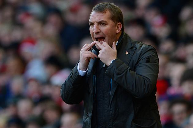 Brendan Rodgers Said Liverpool Werent at Their Best Against Southampton