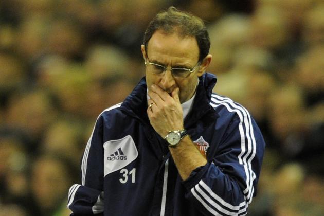 Martin O'Neill Feels Sunderland Squad Lacks Quality