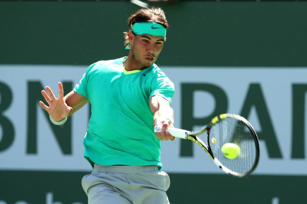 Remarkable Nadal Books Indian Wells Final Spot