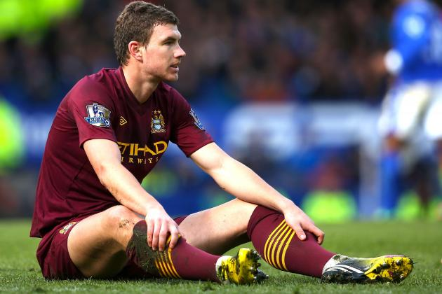 Manchester City: Edin Dzeko Proves Again Why He Is Only a Super-Sub, Little More
