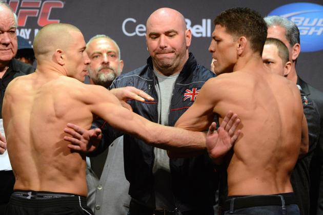 UFC 158: St-Pierre vs. Diaz Live Updates, Highlights and Analysis