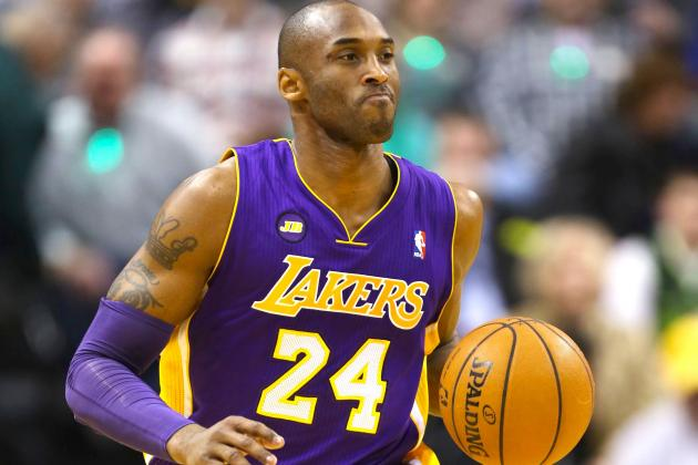 Will Kobe Bryant's Toughness Set Tone for Desperate Lakers?