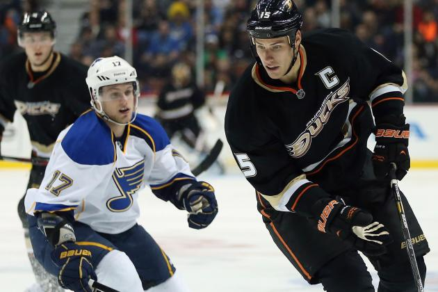 ESPN Gamecast: Ducks vs. Blues