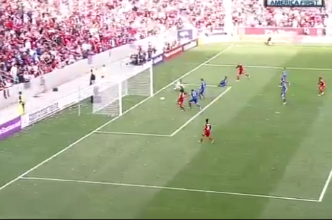 GOAL: Alvaro Saborio Slots in the Equalizer