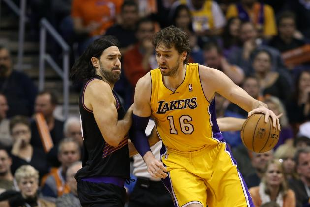 Bringing Pau Gasol Back to Starting Lineup a Risky Move for Lakers' Chemistry