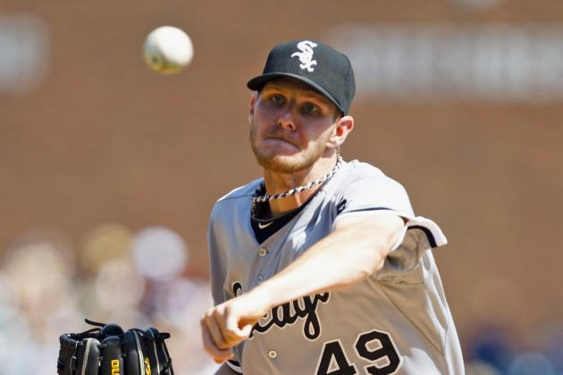 White Sox Tab Chris Sale as Opening Day Starter