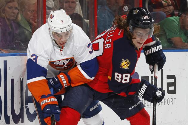 Panthers Lose 6th Straight in 4-3 Loss to Islanders