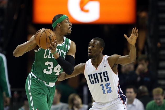 Pierce Has 14 in 3 Quarters, Celtics Beat Bobcats