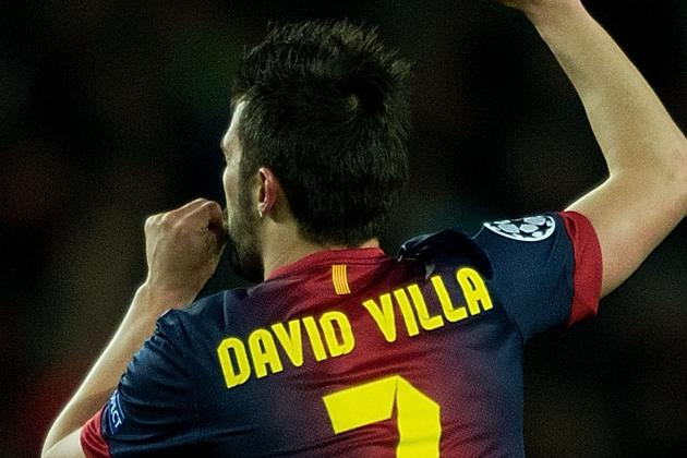 Barcelona Have Reiterated That David Villa Is Not for Sale