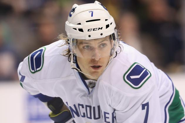 David Booth Has a Lower-Body Injury and Will Not Return vs. Red Wings