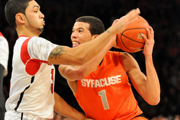 Louisville Spoils Syracuse's Big East Bow with 78-61 Win in Championship Game