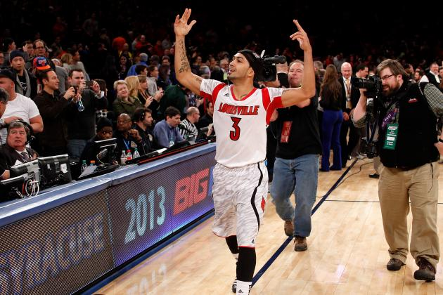 Louisville Rallies Past Cuse to Close Big East Era
