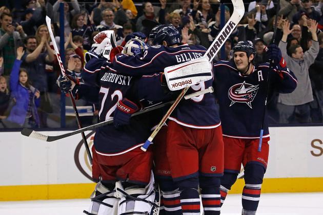 Jackets' Bobrovsky Prevails in Goalie Duel