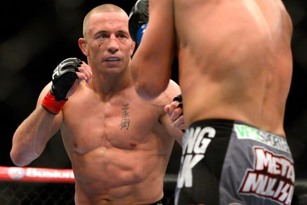 UFC 158 Results: Georges St-Pierre Defeats Nick Diaz