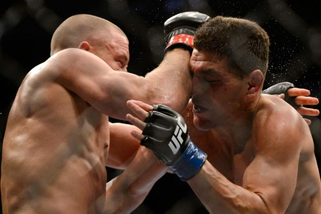 UFC 158: Nick Diaz Hints at Retirement Following Loss to Georges St-Pierre
