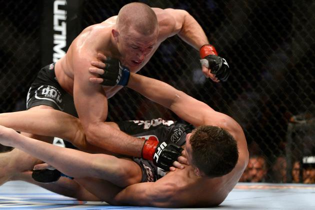 GSP vs. Diaz Results: Breaking Down the Fightmetric Numbers