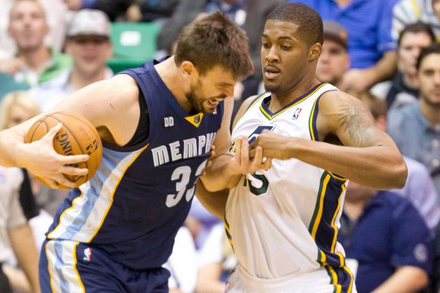 Grizzlies Run out of Gas in 90-84 Road Loss to Utah Jazz