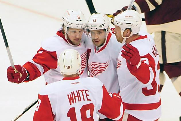 Justin Abdelkader Plays Through Pain, Nets Two Goals in Red Wings' Win
