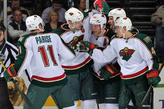 Wild Take Big Lead, Hold off Avalanche