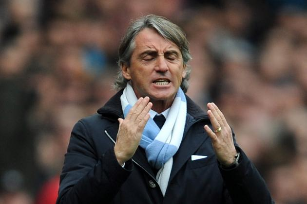 Manchester City Loss to Everton Almost Guarantees Roberto Mancini the Sack