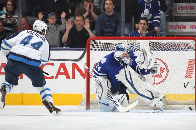 Video: Watch Zach Bogosian Beat the Leafs in 10th Round of the Shootout